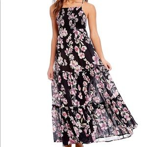 {Free People} NWT Garden Party Floral Maxi Dress